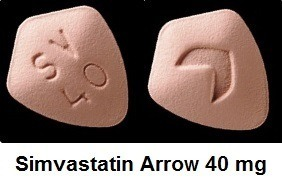 simvastatin arrow 40 mg